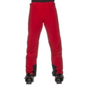 Salomon Icemania Mens Ski Pants, Barbados Cherry, medium