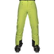 Salomon Icemania Mens Ski Pants, Acid Lime, medium