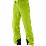 Salomon Icemania Short Mens Ski Pants, Acid Lime, medium
