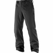 Salomon Icemania Short Mens Ski Pants, Black, medium