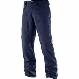 Salomon Icemania Short Mens Ski Pants, Night Sky, 256