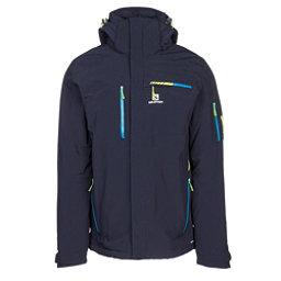 Salomon Brilliant Mens Insulated Ski Jacket, Night Sky, 256