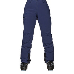 Salomon Icemania Womens Ski Pants, Medieval Blue, 256