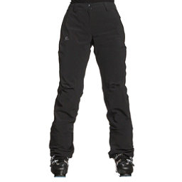 Salomon Icemania Womens Ski Pants, Black, 256