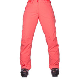 Salomon Fantasy Womens Ski Pants, Fluorescent Coral Heather, 256