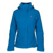 Salomon Brilliant Womens Insulated Ski Jacket, Sky Diver, medium