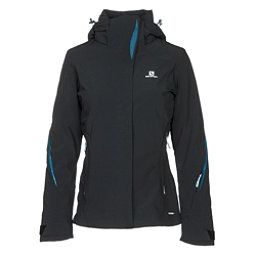 Salomon Brilliant Womens Insulated Ski Jacket, Black, 256