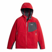 The North Face Chimborazo Kids Hoodie, TNF Red-Graphite Grey, medium