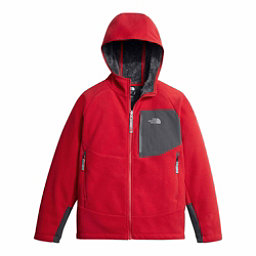 The North Face Chimborazo Kids Hoodie, TNF Red-Graphite Grey, 256