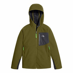 The North Face Chimborazo Kids Hoodie, Burnt Olive Green, 256