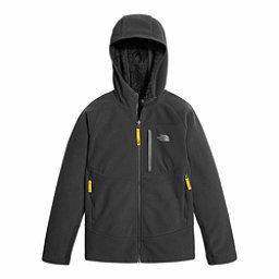 The North Face Chimborazo Kids Hoodie, Graphite Grey-Canary Yellow, 256