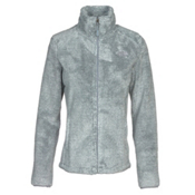 The North Face Osito 2 Womens Jacket, High Rise Grey-Mid Grey Stripe, medium