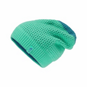 The North Face Shinsky Beanie Kids Hat, Bermuda Green-Blue Moon, medium