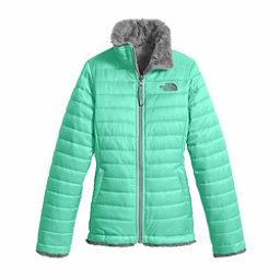 The North Face Reversible Mossbud Swirl Kids Jacket, Bermuda Green, 256