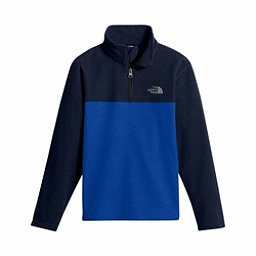 The North Face Glacier 1/4 Zip Kids Midlayer, Bright Cobalt Blue, 256