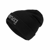 The North Face Dock Worker Beanie Kids Hat, TNF Black-Mid Grey, medium