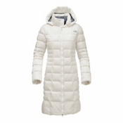 The North Face Metropolis II Parka Womens Jacket, Vintage White, medium