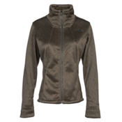 The North Face Apex Chromium Thermal Womens Soft Shell Jacket, New Taupe Green Herringbone, medium