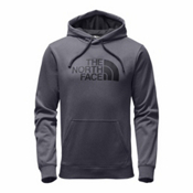 The North Face Surgent Half Dome Pullover Mens Hoodie, TNF Medium Grey Heather-Asphal, medium