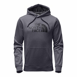 The North Face Surgent Half Dome Pullover Mens Hoodie, TNF Medium Grey Heather-Asphal, 256
