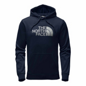 The North Face Surgent Half Dome Pullover Mens Hoodie, Urban Navy-High Rise Grey, medium