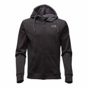The North Face Surgent LFC Full Zip Mens Hoodie, TNF Black-Asphalt Grey, medium