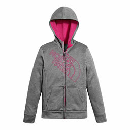 The North Face Surgent Full Zip Kids Hoodie, TNF Medium Grey Heather, 256
