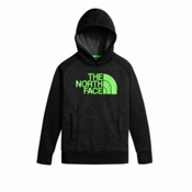 The North Face Surgent Pullover Kids Hoodie, TNF Black Topo Print, medium