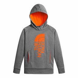 The North Face Surgent Pullover Kids Hoodie, TNF Medium Grey Heather-Power, 256