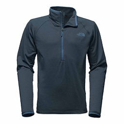 The North Face Borod 1/4 Zip Mens Mid Layer, Urban Navy, 256