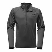 The North Face Borod 1/4 Zip Mens Mid Layer, Asphalt Grey, medium