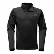 The North Face Borod 1/4 Zip Mens Mid Layer, TNF Black, medium