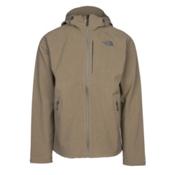 The North Face Apex Flex GTX Mens Shell Ski Jacket, Burnt Olive Green Heather, medium
