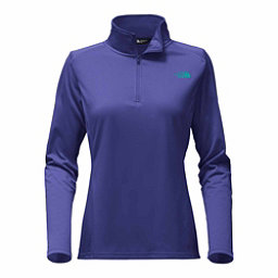 The North Face Tech Glacier 1/4 Zip Womens Mid Layer, Bright Navy, 256