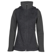 The North Face Indi 2 Hoodie Parka Womens Jacket, TNF Dark Grey Heather, medium