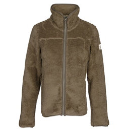 The North Face Campshire Full Zip Womens Jacket, Burnt Olive Green, 256