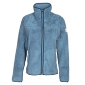 The North Face Campshire Full Zip Womens Jacket, Provincial Blue, medium