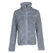 The North Face Campshire Full Zip Womens Jacket, Mid Grey, medium