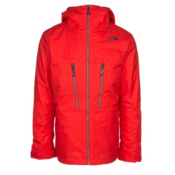 The North Face ThermoBall Snow Triclimate Mens Insulated Ski Jacket, Centennial Red, medium