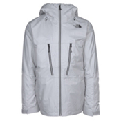 The North Face ThermoBall Snow Triclimate Mens Insulated Ski Jacket, High Rise Grey, medium