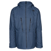 The North Face ThermoBall Snow Triclimate Mens Insulated Ski Jacket, Shady Blue, medium