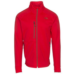 The North Face Powder Guide Mens Mid Layer, Centennial Red, 256