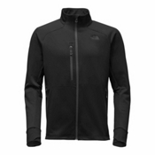 The North Face Powder Guide Mens Mid Layer, TNF Black, medium