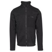 The North Face Solmore Fleece Mens Jacket, Asphalt Grey Dark Heather, medium