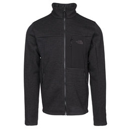 The North Face Solmore Fleece Mens Jacket, Asphalt Grey Dark Heather, 256