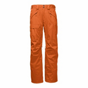 The North Face Freedom Insulated Short Mens Ski Pants, Hawaiian Sunset Orange, medium