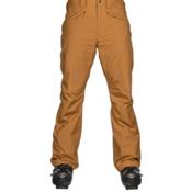 The North Face Straight Six Mens Ski Pants, Golden Brown, medium