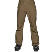 The North Face Straight Six Mens Ski Pants, Military Olive, medium