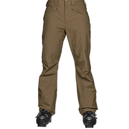 The North Face Straight Six Mens Ski Pants, Military Olive, 256