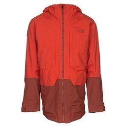 The North Face Repko Mens Insulated Ski Jacket, Tibetan Orange-Brandy Brown, 256